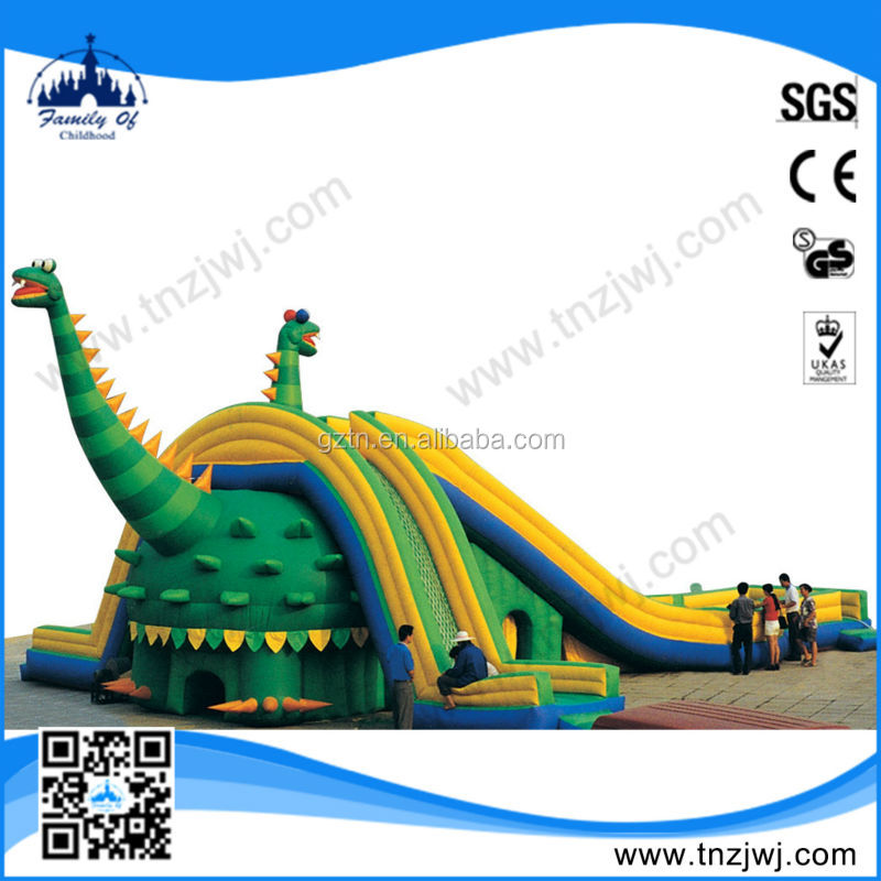 PVC bouncy castle playgorund inflatable slide