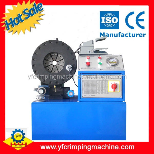 high quality YJK-120 hydraulic crimping machine for earth moving equipment