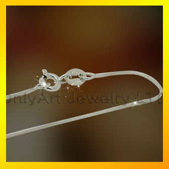 sterling silver snake chain necklace manufaturer, chain jewelry fashion