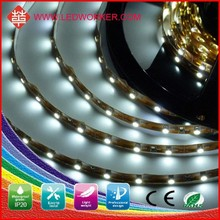 High Brightness 12V/24V DC 3528 220v Led Strip Bar IP20 60 SMD/M From Ledworker