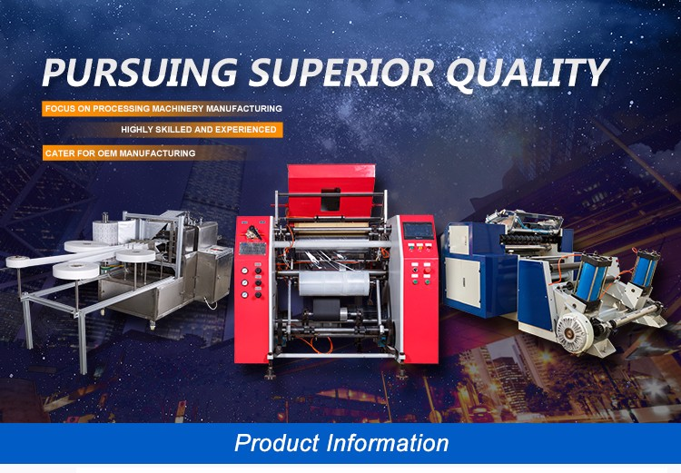 High Performance Wet Wipes Manufacturing Machinery