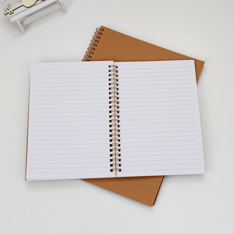 Guangzhou Notebook Manufacturer A5 Size 100 Sheets Thick Spiral Notebook For Promotion