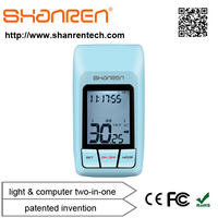 ShanRen Outdoor sport fitness bike computer integrated with light gps bike