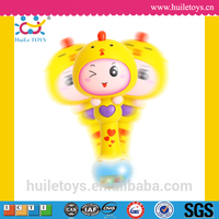 2016 Plastic hot selling baby musical instrument toys with 12 different animals for wholesales