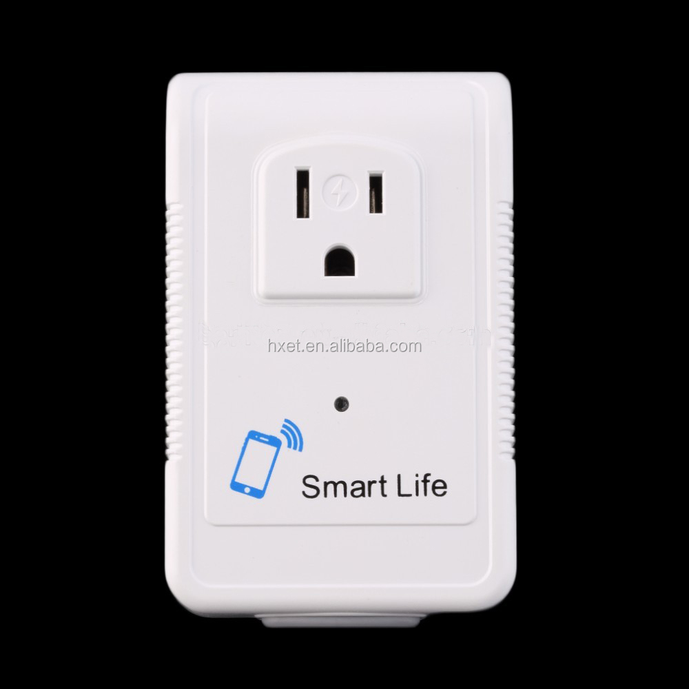 2017 Newest AU/EU/US Outlet Smart Wifi Plug Socket 2000W/2500W/3500W with Power Metering and Electric Leakage Protection