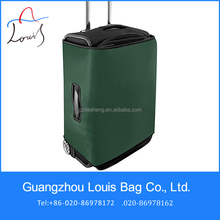 water proof and shockproof plastic luggage cover