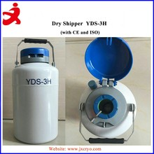 3l dry shipper vacuum cryogenic container for biological samples
