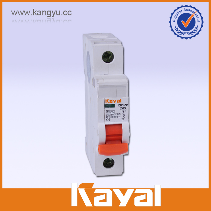 high voltage DC circuit breaker, solar dc current circuit breaker, PV system 550v dc contactor