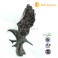 2015 Home and living indoor stone marble eagle table decoration
