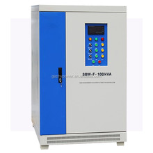 OEM 3 phase AC automatic compensated voltage regulator/stabilizer SBW 120KVA