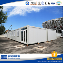 flat pack prefab container house for accommodation building