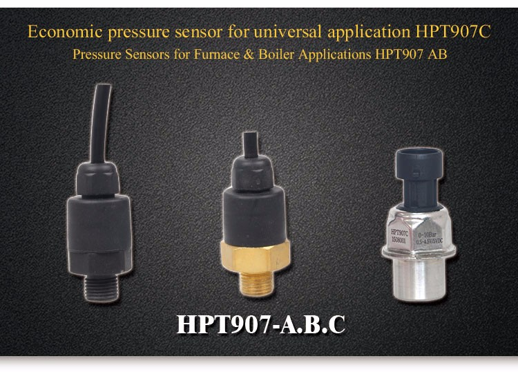 Low Cost Cheap Oil Air Water Pressure Sensor,Pressure Transducer HPT907