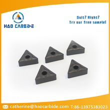 Tungsten carbide cnc turning insert