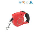 walking dog leash with LED falshlight,high quality retractable dog leash