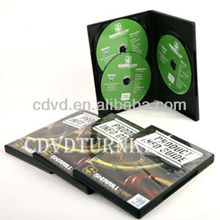 Raw material PP Clear dvd case with full color printing