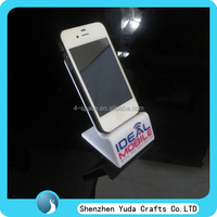 acrylic mobile phone display stand cellphone store display fixture