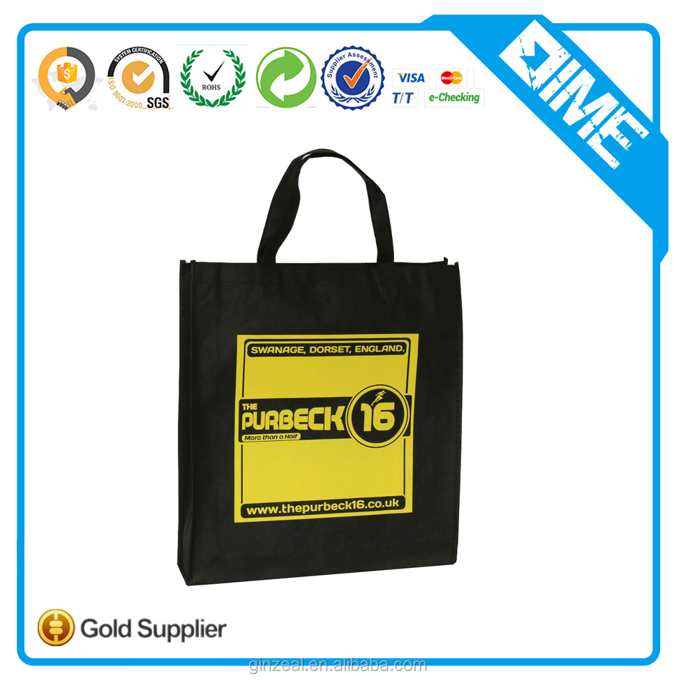 Alibaba China Fashion Non Woven Shopping Bag Pp Non Woven Bag Ecological Nonwoven Carry Bag
