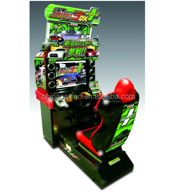Midnight 3DX+ MAXIMUM TUNE Simulator racing car arcade racing car game machine