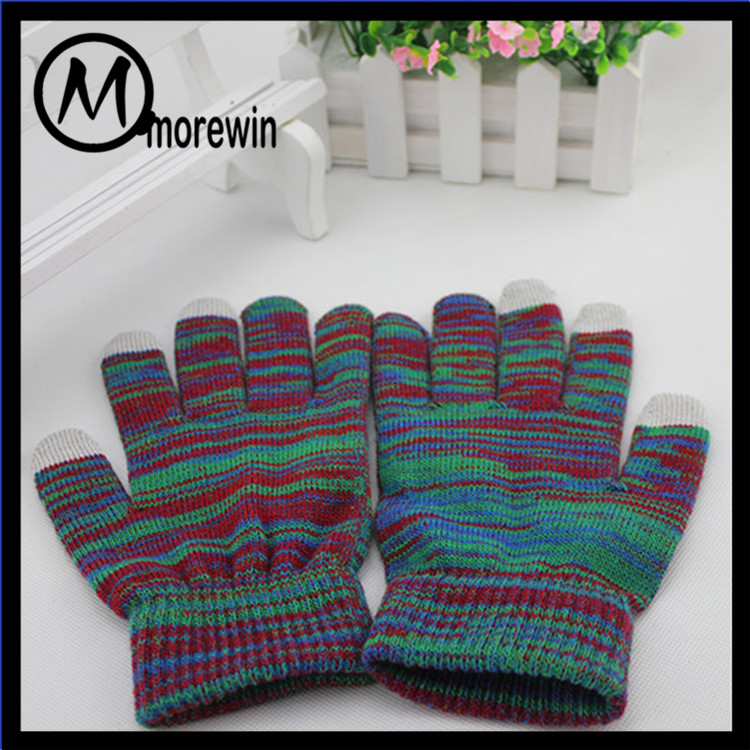 Morewin gloves 3 finger touch screen gloves camouflage color fashion gloves