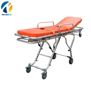 AC-AS004 china supplier Portable Ambulance Medical Military Folding Medical Emergency Stretcher For Rescue