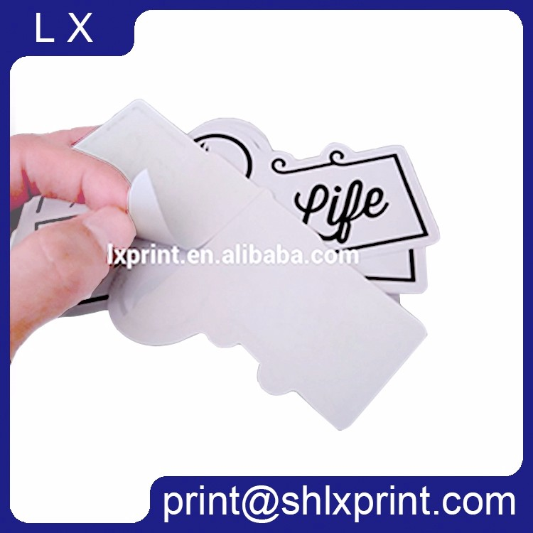 custom die-cut label sticker printing