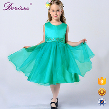 flower baby girl dress 2017 new children long frocks designs kids clothes party wedding birthday