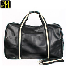 pu leather travel bag