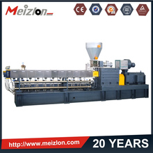 plastic recycling twin screw extruder/plastic granules production line