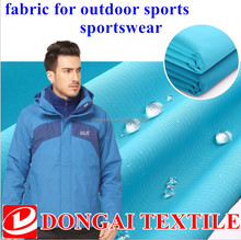 Nylon goretex fabric for outdoor sports sportswear