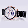 Fashional automatic mechanical water resistant skeleton watches Silicone chocolate watch