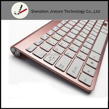 Ultra slim bluetooth 2.4G Wireless Keyboard for IPAD ,MACBOOK,LAPTOP,TV BOX Computer PC ,android tablet with USB dongle