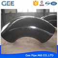GEE 60 degree black steel pipe elbow carbon steel elbow made in china