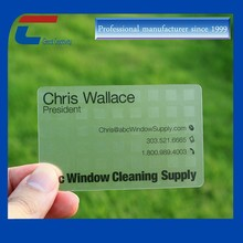 Smart T5577 Pvc Plastic Business Cards Cheap