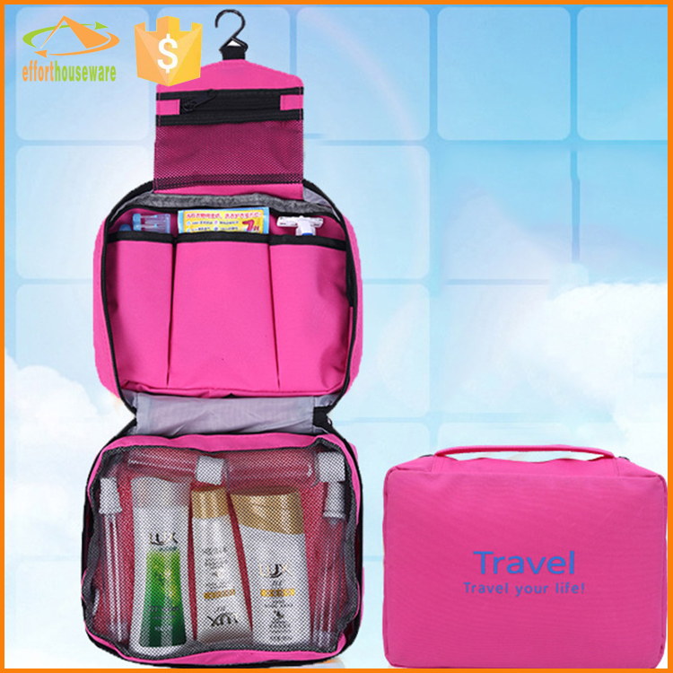 oxford storage hanging bags cosmetics case