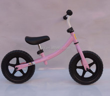 BIGBANG SPORTS 2017 new kids Aluminum metal balance bicycle baby bikes without pedal for christmas