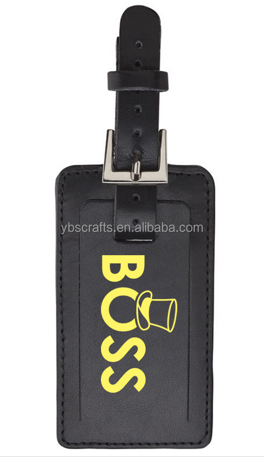Promo Leather Luggage Spotter Tags Live Chat