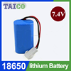 Fast Shipping ICR18650 7.4v Rechargeable Li ion Battery Pack 2600mah