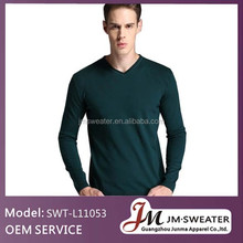 Nordic style cotton sweater snowflake pullover knitting models for men