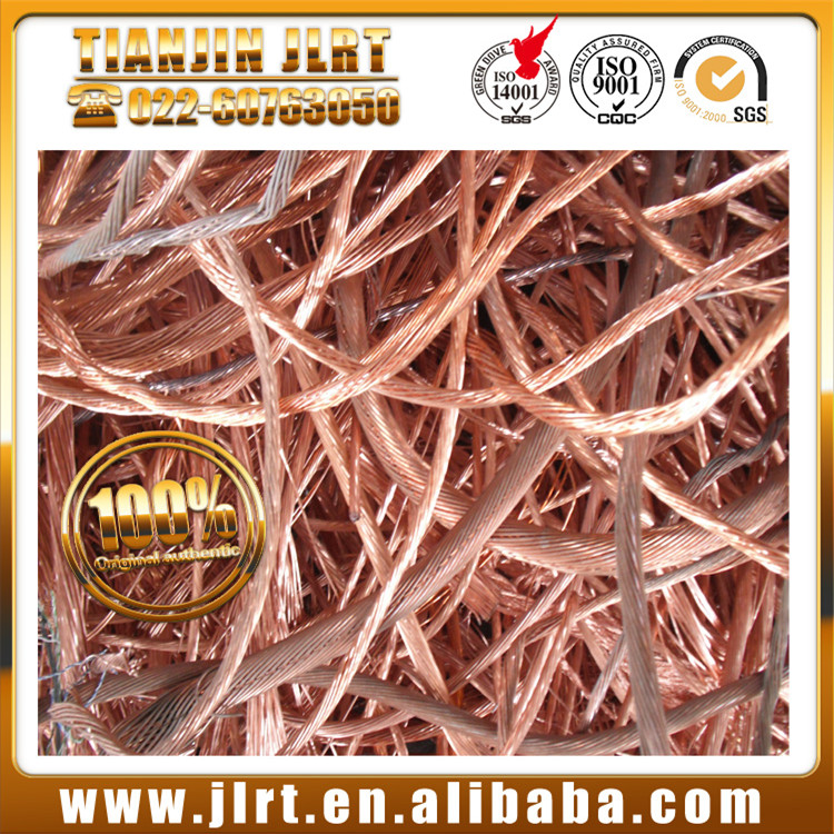 High purity raw materials red metal millberry wire scrap copper prices