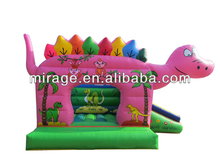 Mini dinosaur inflatable jumping castle for children