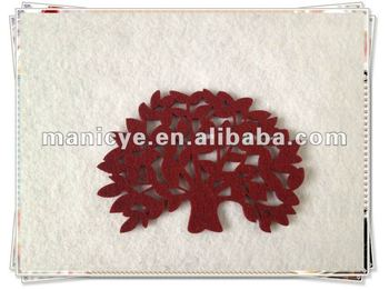 Non-woven Felt For Custom Cup Coaster