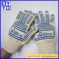 Bakery Ovens 2014 New Products Durable Silicone Black Gloves