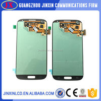 Original Wholesale front assembly lcd display + touch screen digitizer for samsung s4 i9500