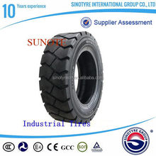 Super quality latest solid forklift tires 28x9-15