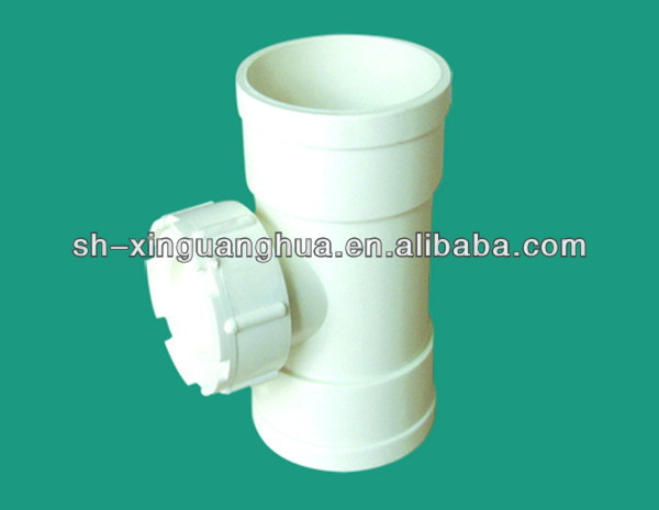 New style customize pvc pipe fitting plastic tube inserts