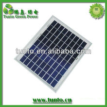High efficient poly solar panel 10wp with CE,ISO,CEC certification