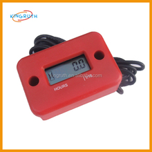 red Electronic Digital Motorcycle hour meter