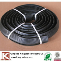 Rubber insulated flexible fiber cable protection cover