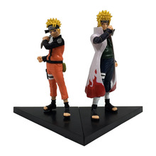Anime pvc figures 6th NARUTO UZUMAKI action figure toys 2pcs/set