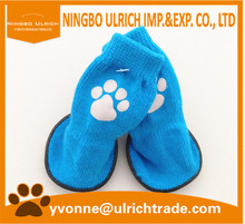 X01 new fashion cotton knitted outdoor waterproof dog sock dog shoe